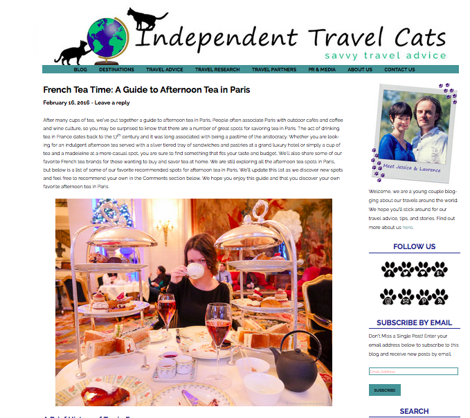 Independant Travel Cats