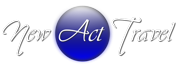 NEW ACT TRAVEL logo