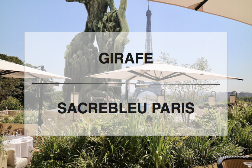 Girafe - Paris' newest gastronomic seafood experience